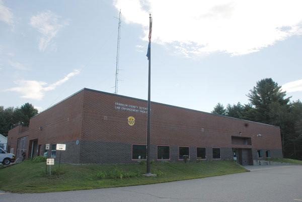 Franklin County Detention Center in Farmington.