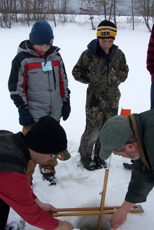Ice fishing derby is feb 19 daily bulldog for Ice fishing derby game
