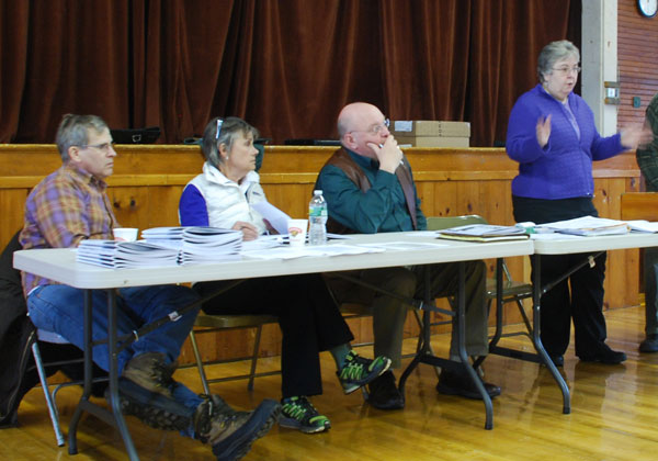 decide new roof school building proceeds clerk election on saturday