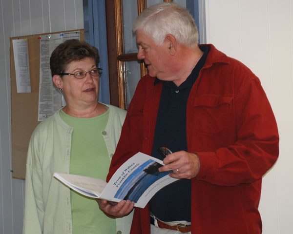 Wilton town report dedicated to departing selectman | Daily