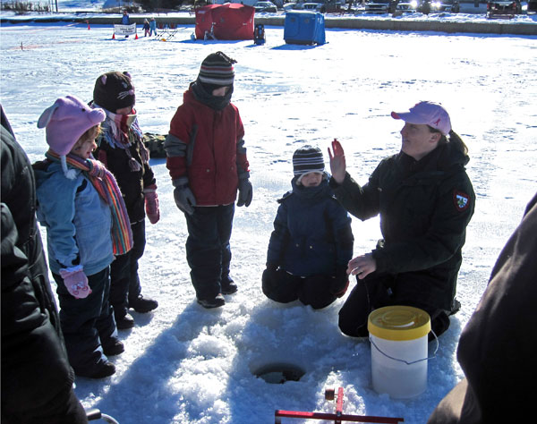 Annual ice fishing derby on wilson lake is feb 17 daily for Maine ice fishing derbies