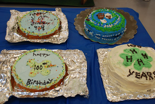 A cake decorating contest is being run through the 4-H programs, Kapiloff said, in celebration of their 100th anniversary. The decorators of the winning cake will receive $50 in Chamber Bucks.