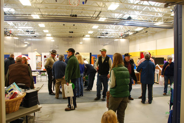 The Home & Leisure Show returned to the new Mt. Blue High School gym this year.