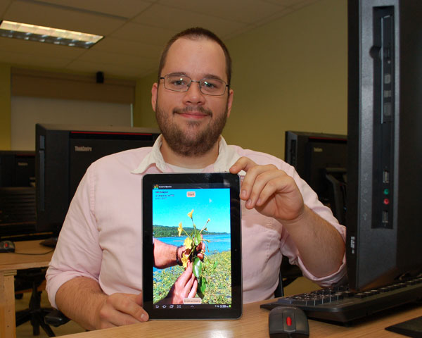 Updated: UMF student creates free app to help identify invasive