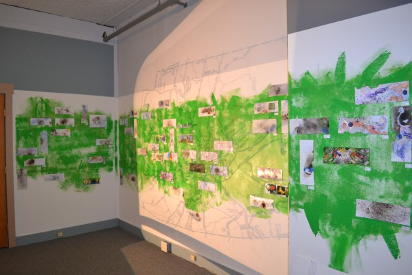 Reimagined Topographies is a community based art project on display Dec. 7 through Dec. 31 at the State Theaters Building in Farmington.
