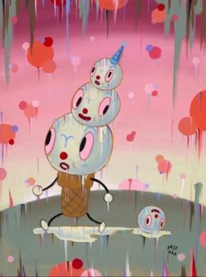 Gary Baseman's 'Clown Cone'