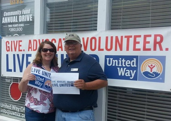 1.United Way receives significant funding from The Lerner Foundation to continue to support the community by engaging and connecting volunteers and organizations. United Way board chair Larissa Larrabee, and Volunteer Campaign Chair Ken Lust, look forward to continuing supporting volunteerism in Greater Franklin County.