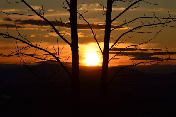 Amazing sunset in New Sharon (Donovan Buck/Belgrade)