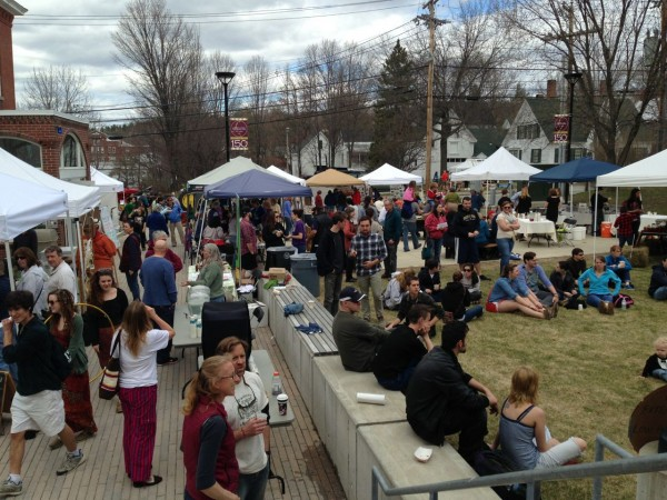 A big turnout at last year's Annual Maine Fiddlehead Festival
