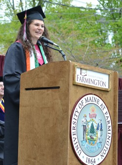 University of Maine at Farmington class speaker