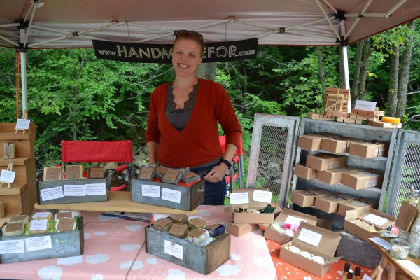 Rachel Smith sells her beauty products, Homemade For.