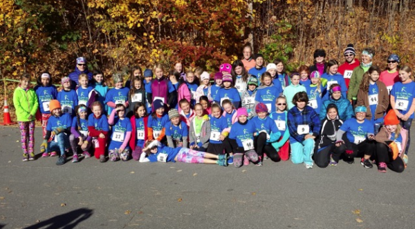Participants of the 5th annual Fit Girls benefit held on Saturday in Wilton.