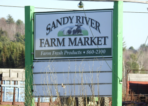Sandy River Farm Market announced a recal of its whole milk with the date 11/14 on the cap.