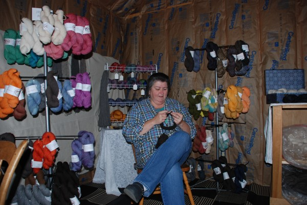 Brenda Simoneau in her store.