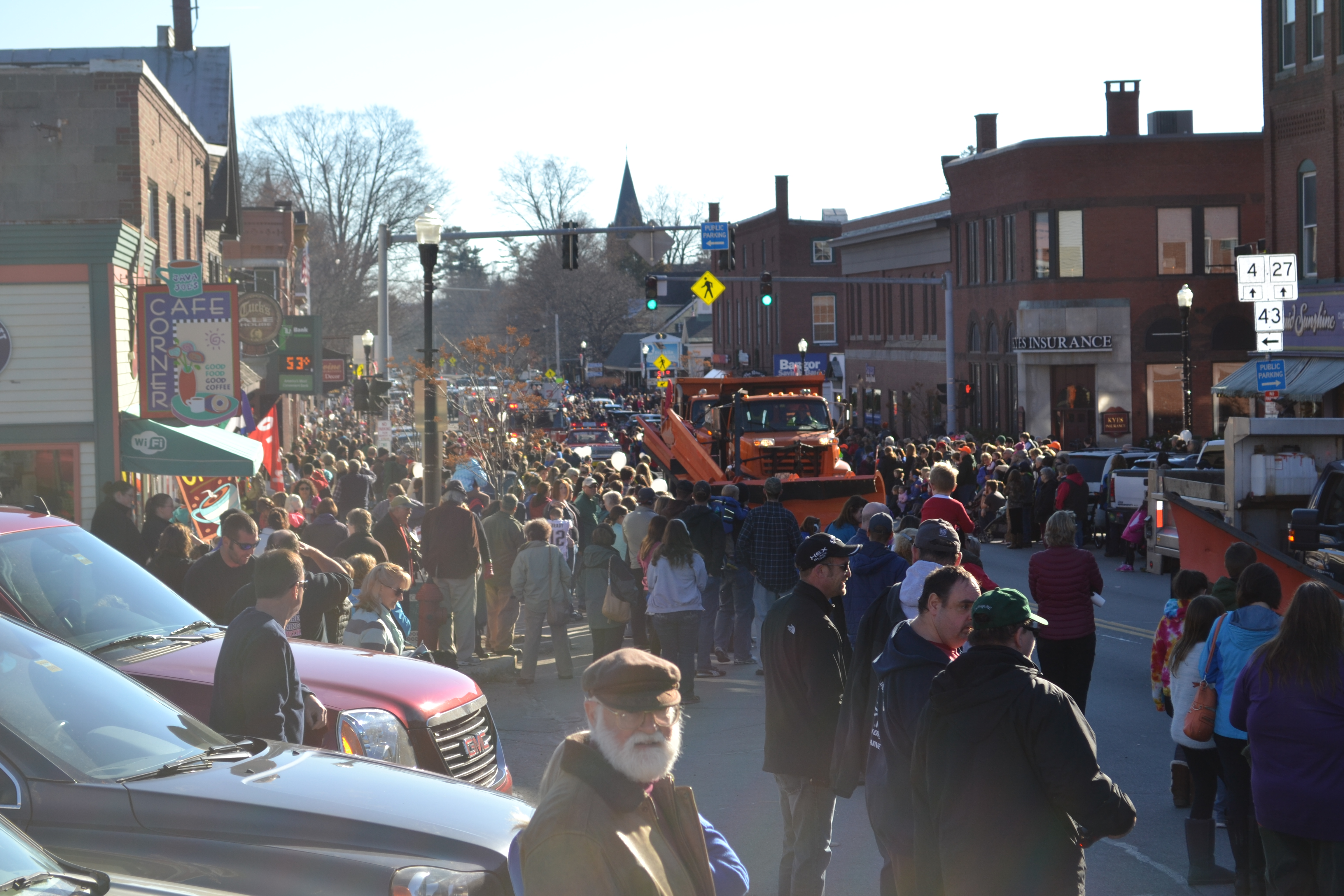 The Chester Greenwood Day Parade Sponsored By The Franklin County Chamber Of Commerce Drew
