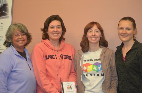 L ro R: Lori Lewis, vice president; Marylena Chaisson, secretary: Angela McLeod, president; Nikki Knowles, treasurer.