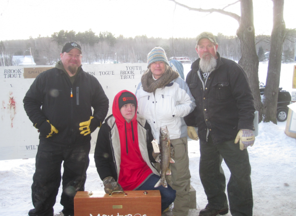 Wilton fish game s annual michael j rowe memorial ice for Ice fishing derby game