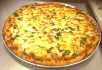 One of the finished pizza!