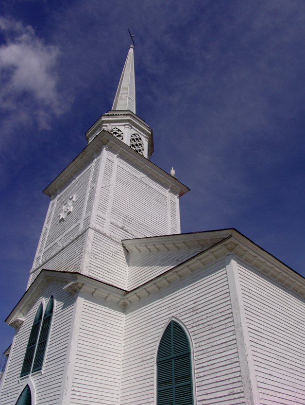 The funding will be used to fix and re-flash the roof at the steeple tower base of the meeting house.
