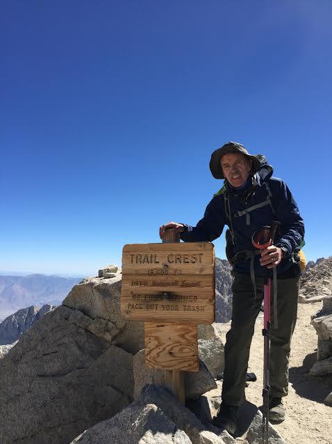 Doug Dunlap at 13,000 feet.
