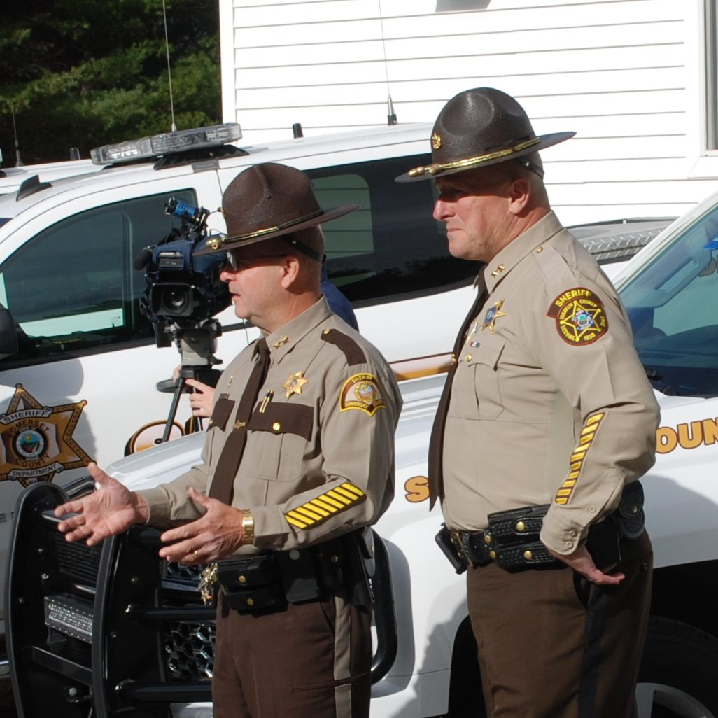 Deputies with Franklin, Somerset County Sheriff's Offices