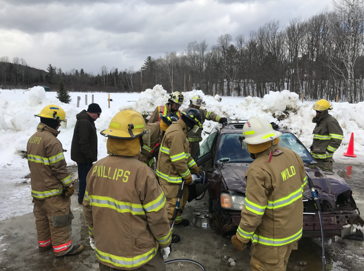 Phillips, Weld firefighters receive new rescue equipment training