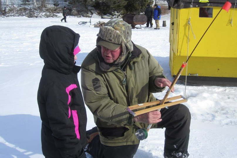 3rd annual michael j rowe memorial ice fishing derby is for Maine ice fishing derbies
