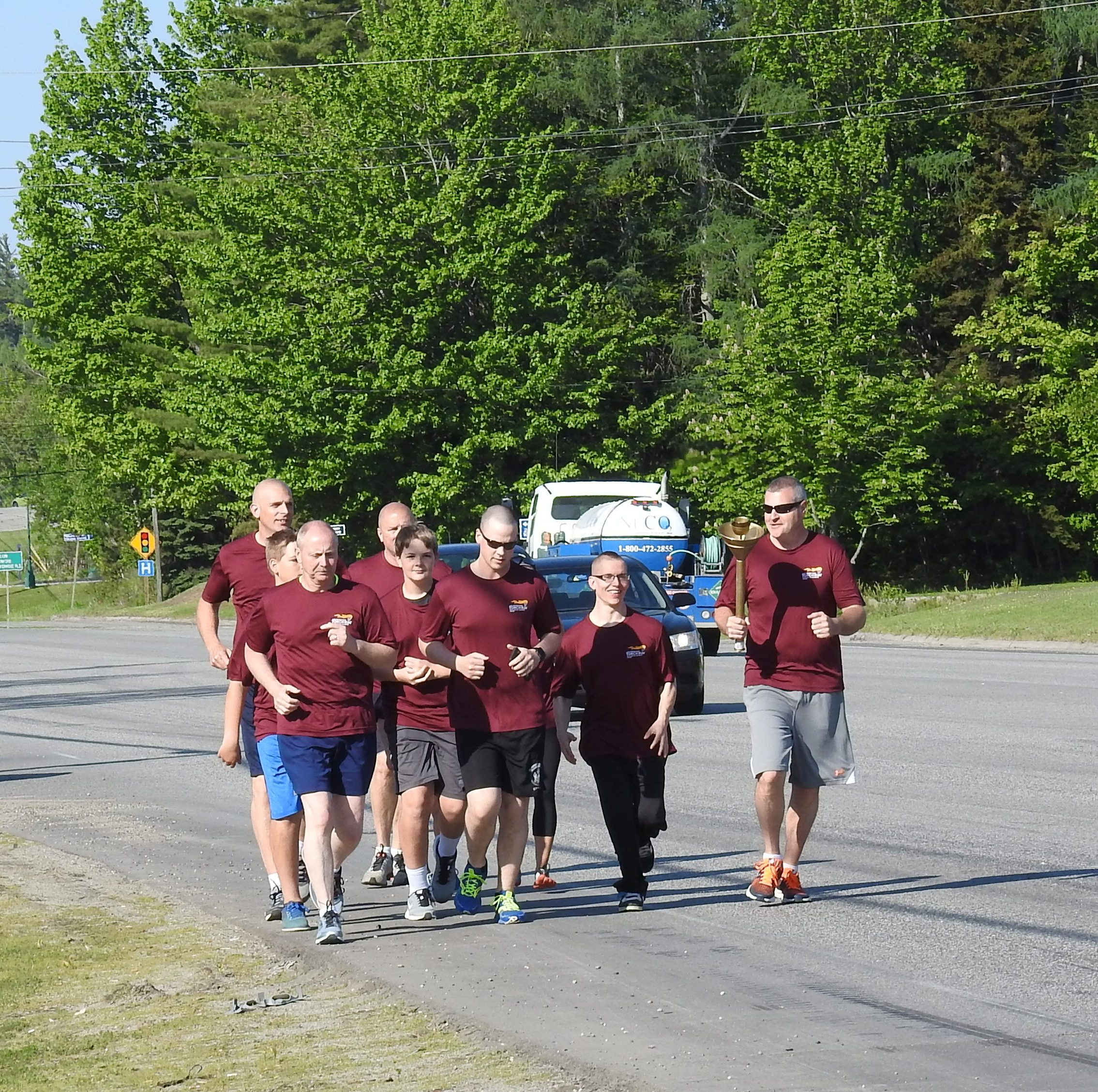 Torch run takes its flame through the Valley